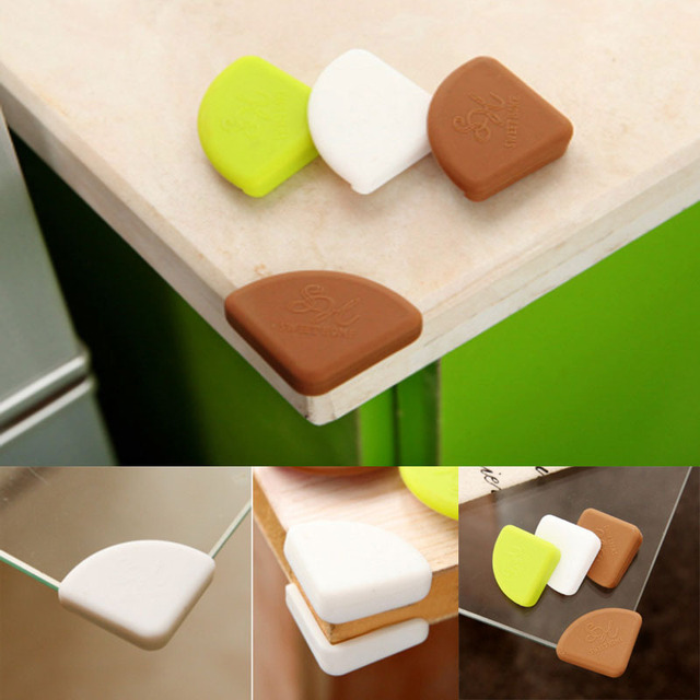 Charmant Soft Baby Safety Corner Protector Baby Kids Table Desk Corner Guard  Children Safety Edge Guards Silicone