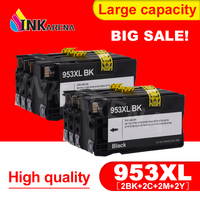INKARENA 2 Pack For HP 953XL 953 XL BK C M Y Full Ink Cartridge For HP OfficeJet Pro 8210 8720 8730 8740 8710 P55250dw Printer