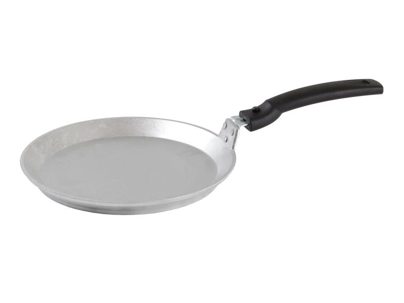 Frying Pan griddle Kukmara, with removable handle, 24 cm frying pan griddle kukmara tradition 24 cm with non stick coating with removable handle