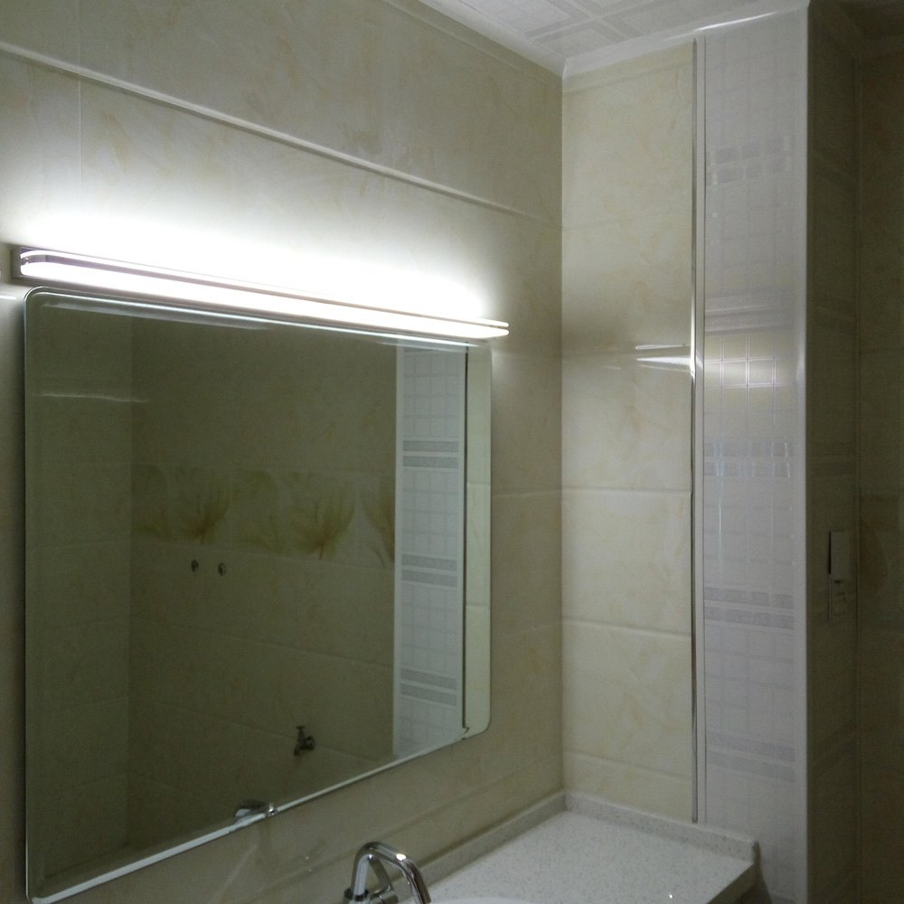 Modern LED Acrylic Bathroom Wall Lights Contracted Long White ...