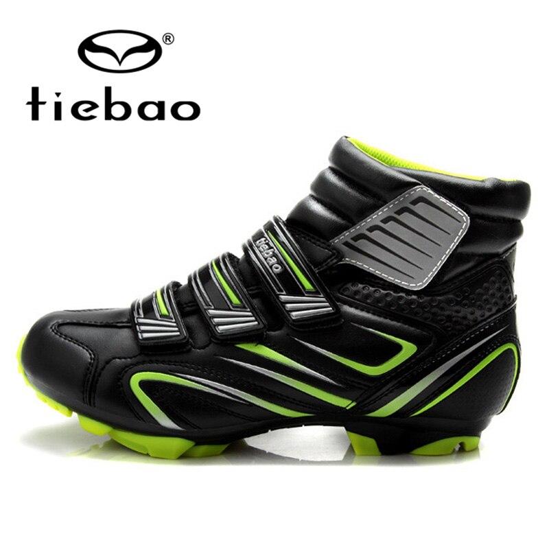 Tiebao велосипед самоблокирующаяся волшебная лента велосипедная обувь сохраняет тепло велосипедная спортивная обувь для велоспорта - 2