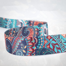 Cotton Printed Yoga Belt