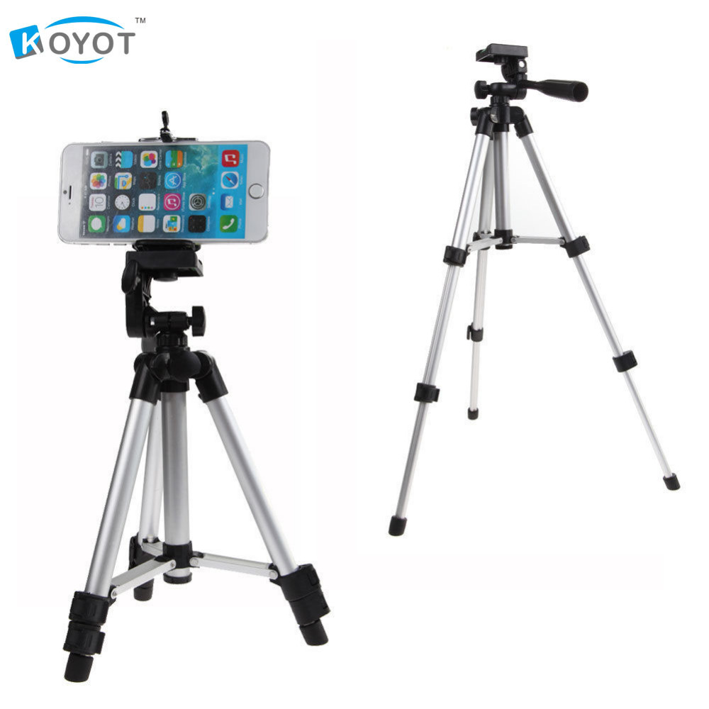 Professional Camera Tripod Mount Stand Holder for iPhone Samsung Mobile Phone universal tripod mount adapter telescopic cell phone stand holder