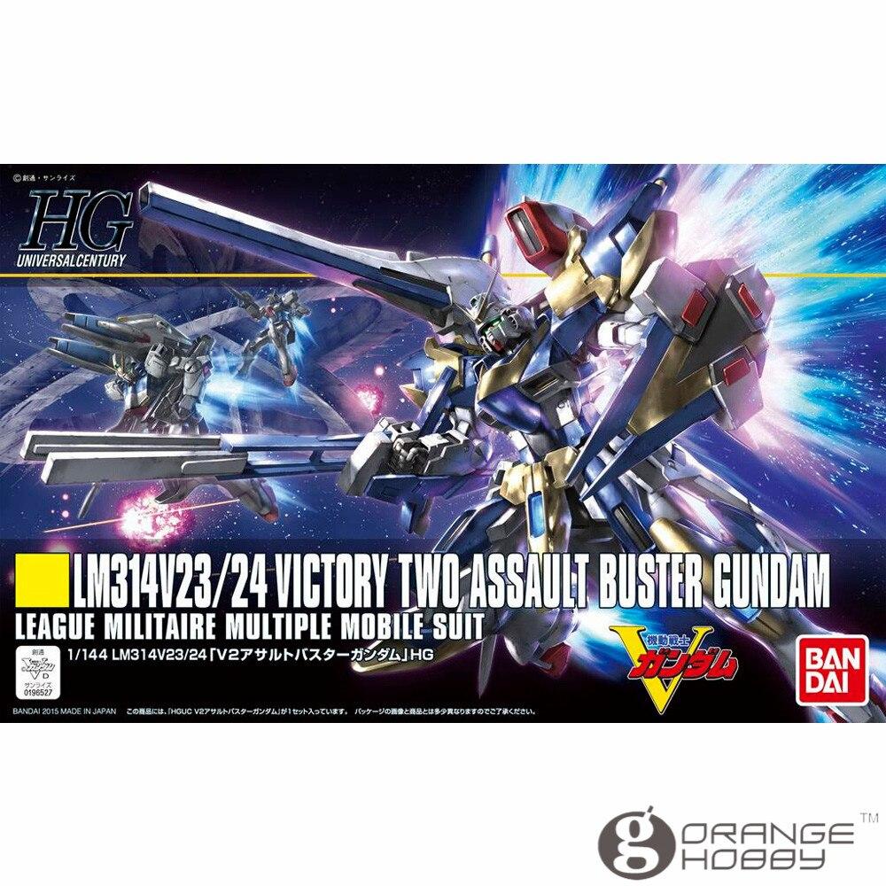 OHS Bandai HGUC 189 1/144 LM314V24/24 V2 Assault Buster Gundam Mobile Suit Assembly Model Kits bandai 1 100 mg assault purples gundam model page href page 5