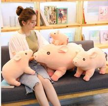 WYZHY Simulation Pig Doll Pillow Plush Toy Sofa Decoration Send Friends and Children Gifts 25CM