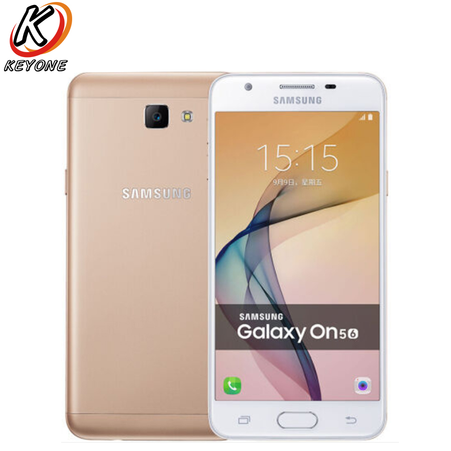 New Samsung GALAXY On5 G5510 LTE Mobile <font><b>Phone</b></font> 5.0&#8243; 2GB RAM 16GB ROM Snapdragon 425 Quad Core Android 13.0MP Dual SIM Smart <font><b>Phone</b></font>