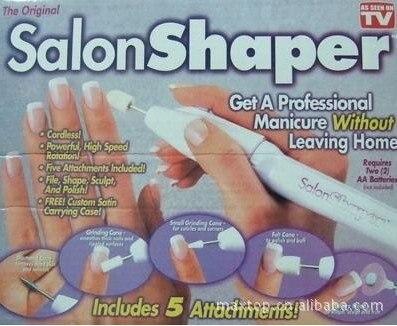 wholesale factory price 48pcs/lot salon shaper Cordless Manicure Pedicure Nail Kit As Seen On TV