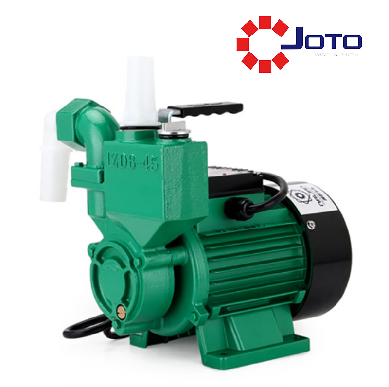 Cast Iron Small Electrical Home Self-priming Pump 220V Quiet Water Supply/ Pumping Booster Pump 370W Low Pressure Water Pump купить