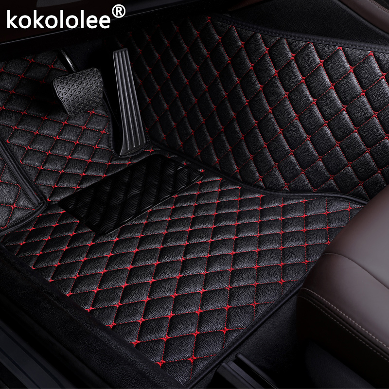 Tapetes de carro para skoda octavia, fabia de carro, fabia rápida, espaçoneback, greenline, estilizador de carro, personalizado, automóvel tapete