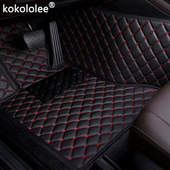 Car Floor Mats For Skoda Octavia Yeti Fabia Superb RAPID Fabia Rapid Spaceback GreenLine Joyste car styling Custom auto foot mat image