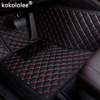 Car Floor Mats For Skoda Octavia Yeti Fabia Superb RAPID Fabia Rapid Spaceback GreenLine Joyste car styling Custom auto foot mat