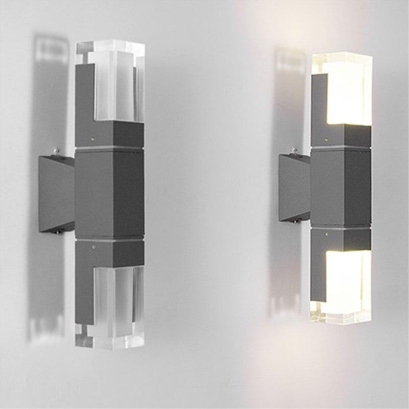 design moderno led porch luz 5w 10w 02
