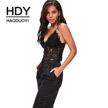7b7b382c04a HDY Haoduoyi Black Sexy Lace Bra Women Mesh Semi Sheer Wire Free Back  Zipper Soft