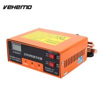 Vehemo 12V/24V 140W Car Battery Charger Battery Charger Pulse Repair Accessories Car Electric Replacement