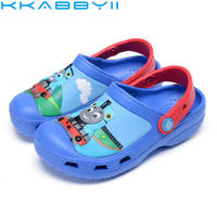 Summer Children Boys Girls Slipper S Cartoon Thomas Shoes Sandals Non Slip Jelly Shoes Sandals Children
