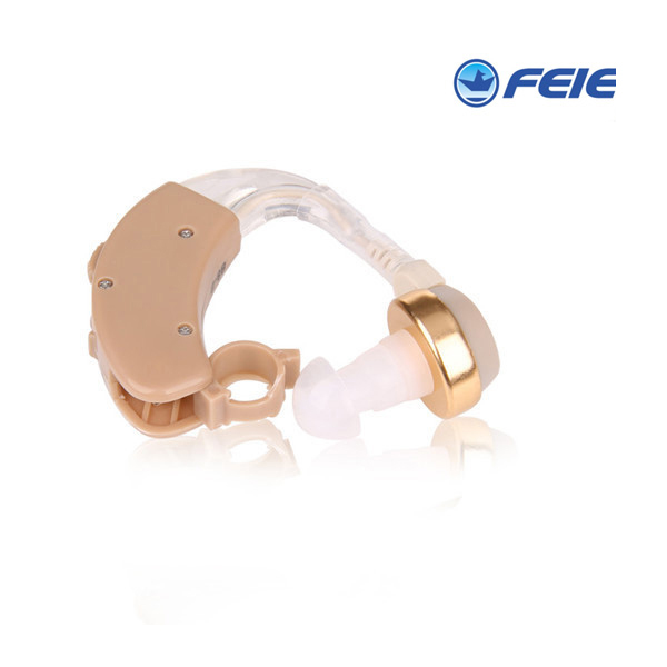 Feie hot selling new cheap wholesale sound amplifier ear hearing BTE aid  S-8B Free Shipping the volume can be adjusted