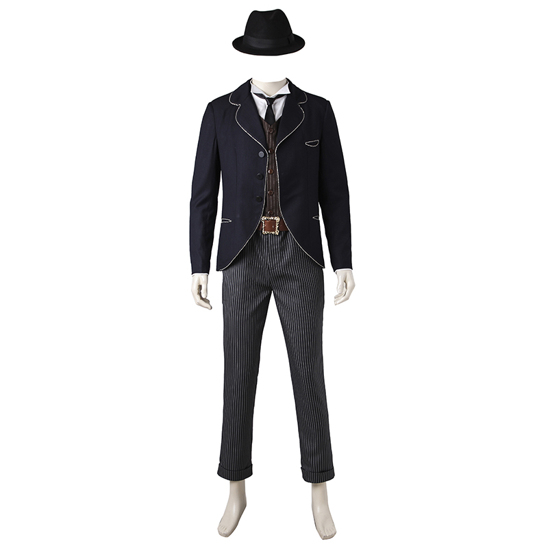 Credence Cosplay Fantastic Beasts and Where to Find Them Costume Clothing Men Adult Magician Halloween Party Suit Custom Made