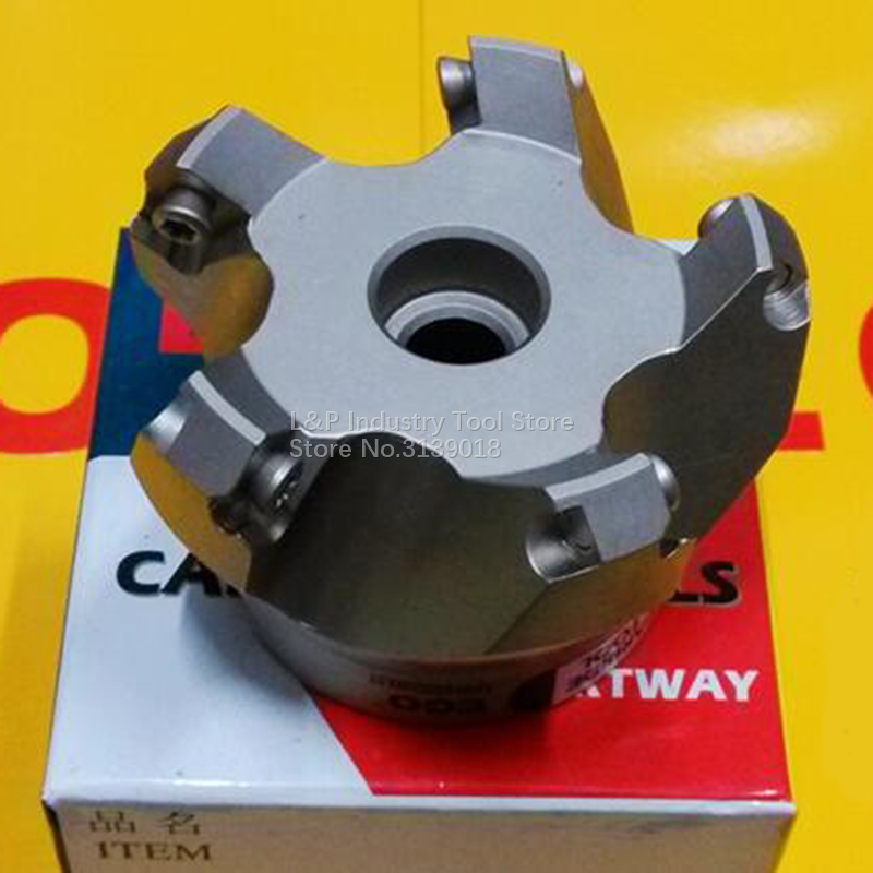 New Original EGO Face Milling Cutter KM 45 Angle 50 63 80 100 125 160 Toolholder