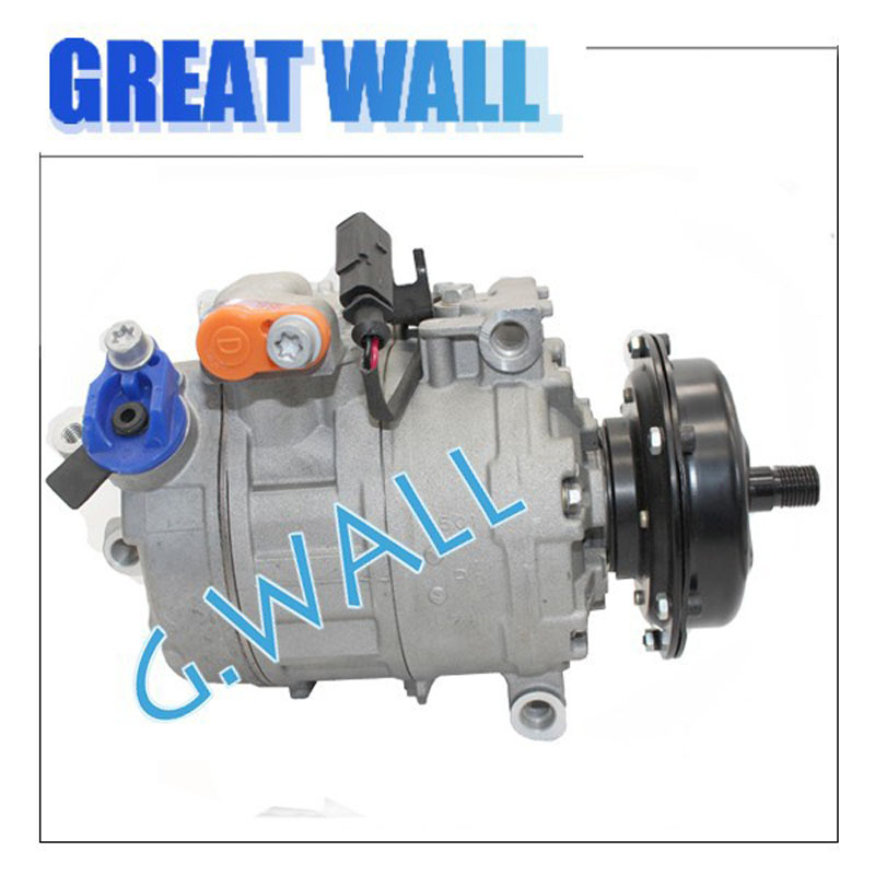 new Auto ac Compressor For Car Volkswagen Pheaton Touareg Transporter MultivanT5 T5 Bus 7H0820805C 7H0820805E