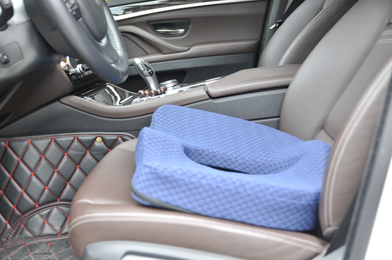 HTB1stMXfVkoBKNjSZFkq6z4tFXam PurenLatex 45*40 Orthopedic Coccyx Memory Foam Chair Car Seat Cushion Pillow Pad Wheelchair Mats For Postpartum Hemorrhoid Treat