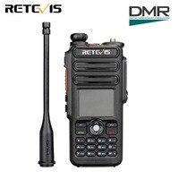 Retevis RT82 GPS Dual Band DMR Radio Walkie Talkie Digital DCDM TDMA IP67 Waterproof Two Way