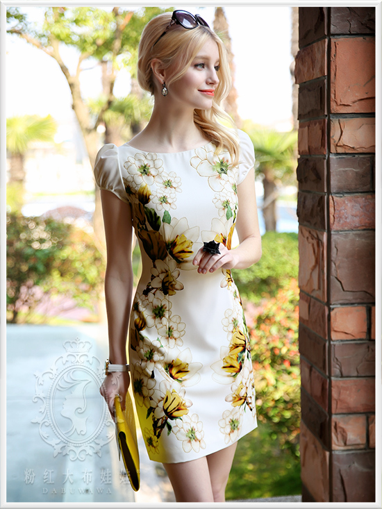 Aliexpress.com : Buy Dabuwawa beautiful summer dress from Reliable ...
