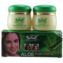 2Pcs/set Removes Pigment Freckle Face Care Skin Care Aloe Spot Face Whitening Moisturizing Cream Hot