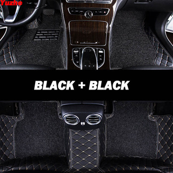 Yuzhe Auto car floor Foot mat For infiniti qx70 fx qx60 fx37 qx50 ex qx56 q50 q60 car accessories waterproof carpet rugs