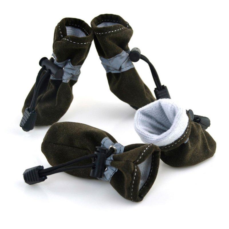 4пцс / сет Маленькаа обувь дла собак - Производи за кућне љубимце