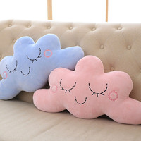 Smile Cloud Pillow Cartoon Cotton Cushions Pillow Children Pillow Baby Room Decorative Cushion Bed ToyCamera Props