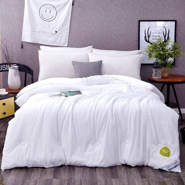 Funda Nordica 100% Chinese Silk Comforter Summer Winter Silk Quilt