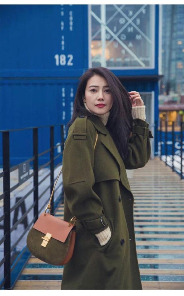 H916 2018 Femme Style Cotton Pardessus Color Tranchée Laine plus Longue Femmes Photo Manteau Mode Bref Hiver De Européenne Automne Veste fnWZxAf