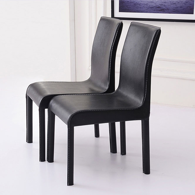 Simple And Stylish Dining Chairs IKEA Family Size Black And White Full  Phi  Arts Hotel