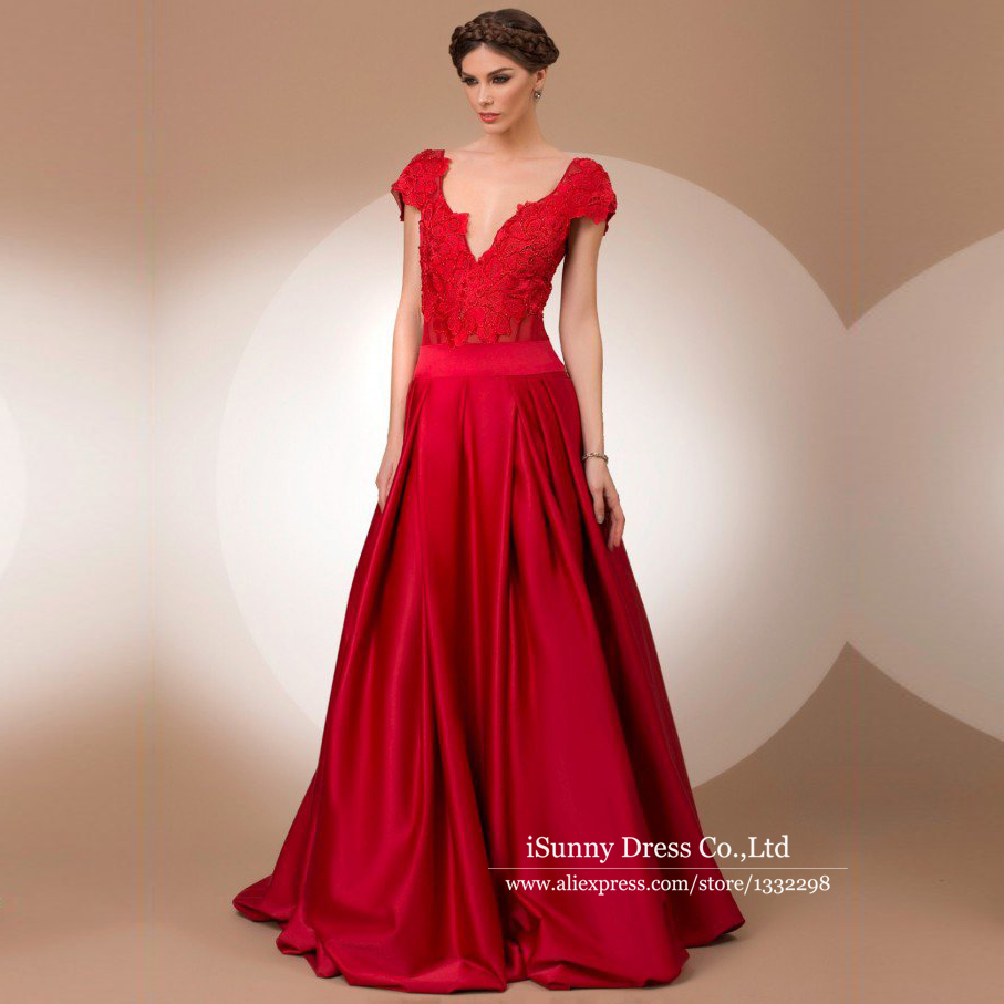 Popular Backless Red Evening Gown-Buy Cheap Backless Red Evening ...