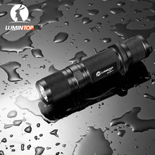 LUMINTOP Tactical EDC Flashlight  ED20-T Dual Switch Remote Mouse Tail Cree XM-L2 U2 LED Max 750  Lumens 163m 5 Mode with Memory
