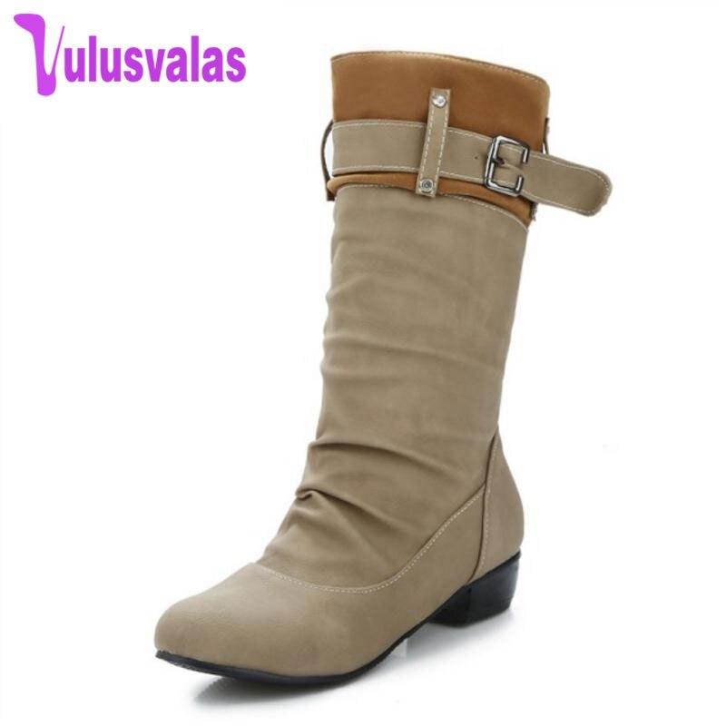 Chaussures Mode Bout D'hiver Mélangée Simple Femmes Courtes Rond hrCQdtsxB