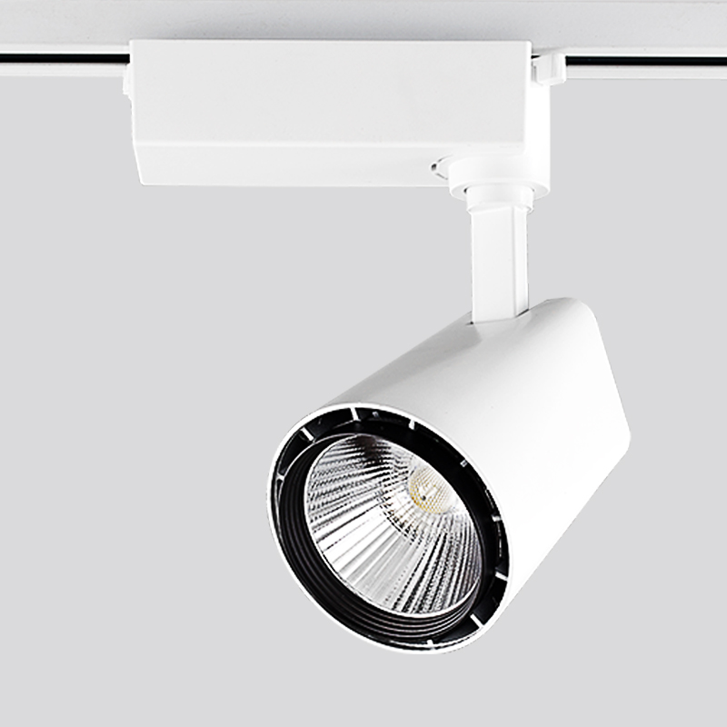 Us 44 73 14 Off Scon 20w Cree Led Track Light Ac110v 240v Spotlights Modern Dimmable Lamp Clothing Shoes Rail Lamps Indoor Lighting In