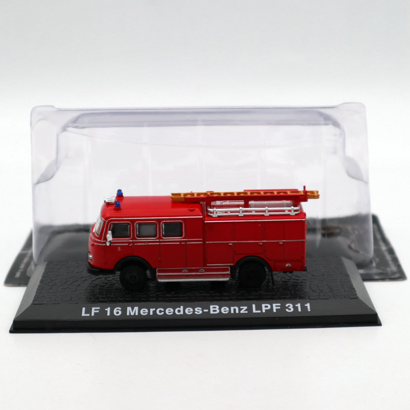 Atlas 1/72 LF 16 M Ben LPF 311 Fire Engine Diecast Models Toys Car Limited Edition Collection Red