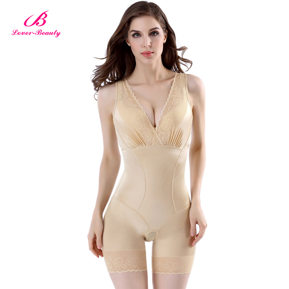 675a09fb1a974 Lover Beauty Lady Slimming Burn Fat Briefs Shapewear Tummy Slim Bodysuit  Full Body Shaper Slimming Underwear Vest Bodysuits C