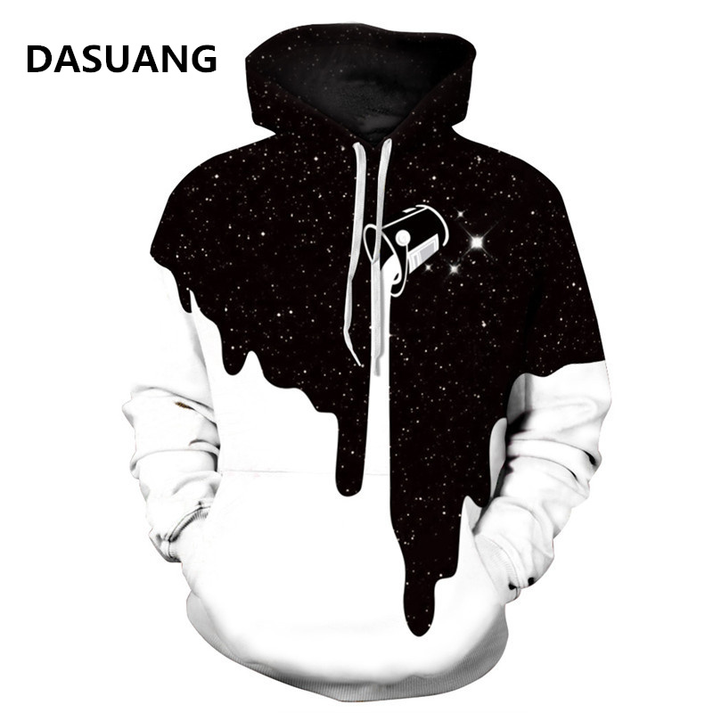 2018 Newest 3D Print Christmas Halloween Skull Theme Pullover Hoodies for Women/men Causal Loose Plus Size Sweatshirts Femme Hot