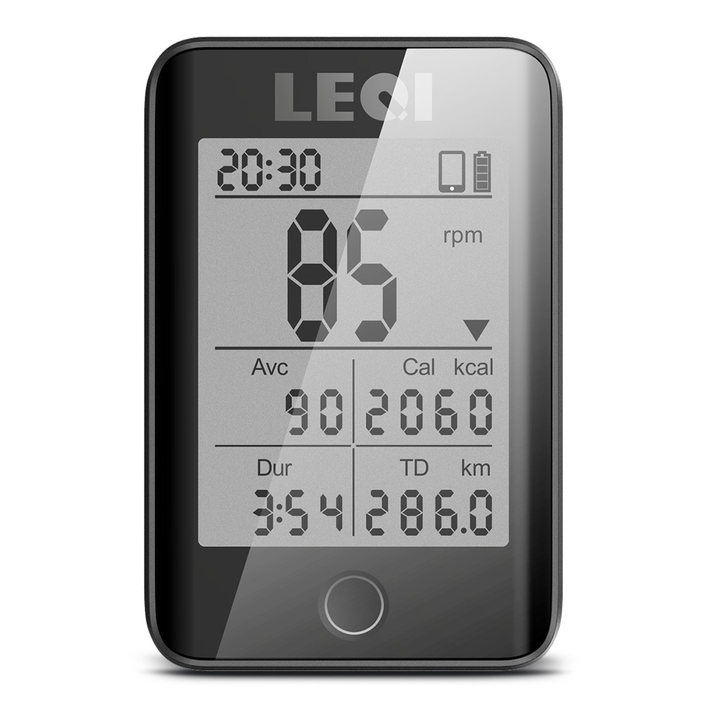2 2 Large Screen Bicycle Computer Wireless Cycling Bicycle Computer Rainproof Speedometer Odometer with Mount Cadence