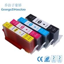 4 X 364XL чернильный картридж Compatibel voor HP364 364 XL Photosmart Беспроводной B109a B109d B109f B109n плюс B209a B209c B210a принтер