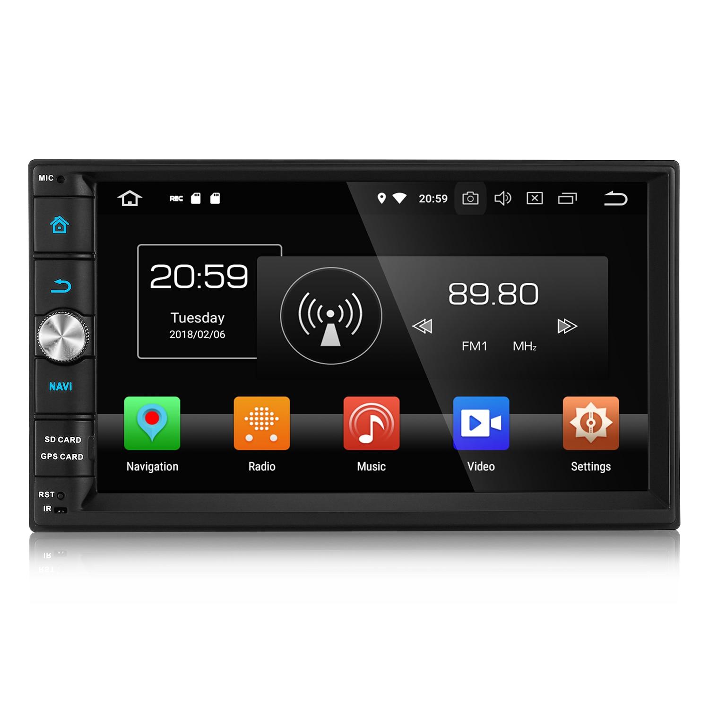 Zeepin 2din Android 8.0 8 Core 4GB RAM Car Multimedia Player For VW Passat CC Polo GOLF 5 6 Touran EOS T5 Sharan GPS Radio Bt bosion 2 din 8 inch quad core 4gb ram car dvd for vw passat cc polo golf 5 6 touran eos t5 sharan jetta tiguan gps radio bt