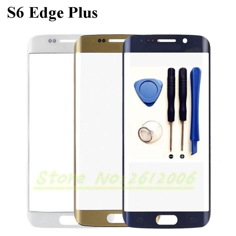 imágenes para 5.7 ''de Alta Calidad Frente Exterior Lente de Cristal de Reemplazo Para Samsung Galaxy S6 Edge Más S6 Edge + G928 G928F envío libre + Herramientas