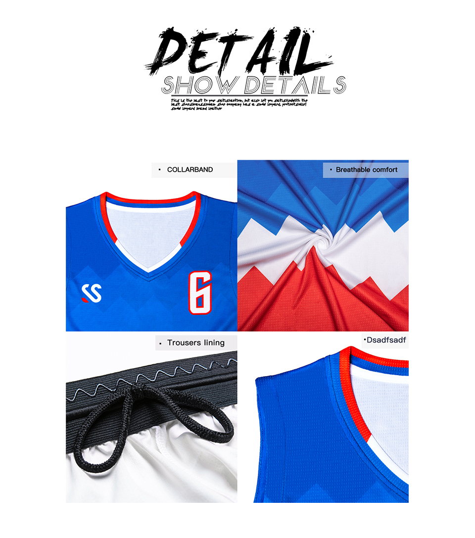 Basketball Jerseys crianças respirável Uniformes De Basquete