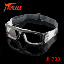 PANLEES Flexible Big Size Basketball Goggles with Protective Cushion For Men Women Clear Lens Sports Glasses Prscription Optical