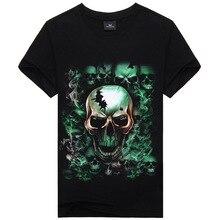 Marke Kleidung Sommer Schädel Dark Souls Punisher Print 3D T-shirt Männer T-shirts 100% Baumwolle T-shirt Mann Shirts Bluse Camiseta