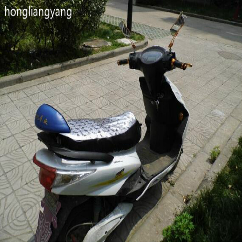 62*30cm Sunscreen waterproof scooter seat cover motorbike seat cover motorcycle seat cover fit for length 58-63cm width28-30cm