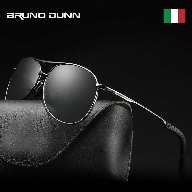 Bruno Dunn HD мужские фотохромные HD поляризованные солнцезащитные очки  авиационные очки Хамелеон для дневного ночного видения 78ffa3fd586
