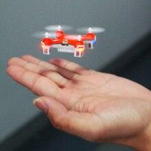 ด้านบนปั่นของเล่นอยู่ไม่สุขของเล่นนกแก้วนกของเล่นC Heerson CX-10มินิ2.4กรัม4CH LED RC Q Uadcopter +คุ้มครองปกของขวัญ